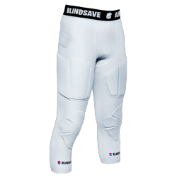 Pantalon 3/4 FULL PROTECTION blanc - Blindsave
